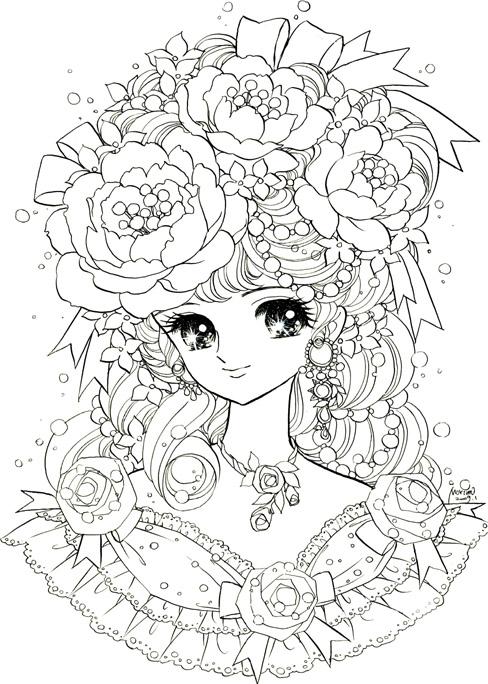 【女の子向け】お姫様 プリンセスの塗り絵(ぬりえ) 無料画像テンプレート素材【ドレス】 , NAVER まとめ